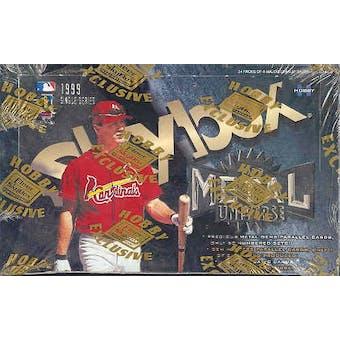 1999 Skybox Metal Universe Baseball Hobby Box
