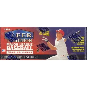 1999 Fleer Tradition Millennium Baseball Factory Set