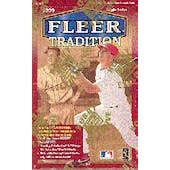 1999 Fleer Tradition Baseball Hobby Box (Reed Buy)