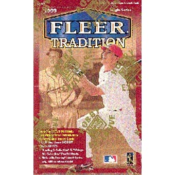 1999 Fleer Tradition Baseball Hobby Box (Reed Buy)