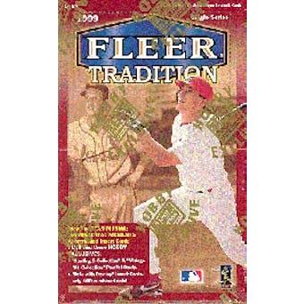 1999 Fleer Tradition Baseball Hobby Box