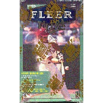 1999 Fleer Ultra Baseball Hobby Box