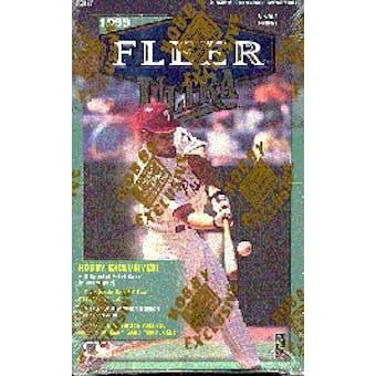 1999 Fleer Ultra Baseball Hobby Box