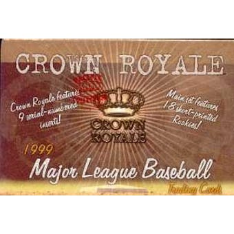 1999 Pacific Crown Royale Baseball Hobby Box