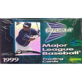 1999 Pacific Prism Baseball Hobby Box