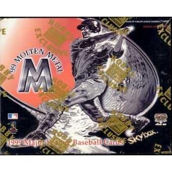 1999 Skybox Molten Metal Baseball Hobby Box