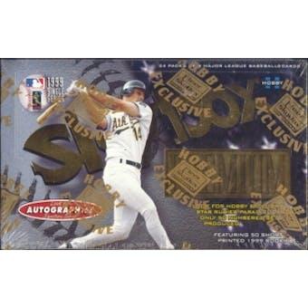 1999 Skybox Premium Baseball Hobby Box