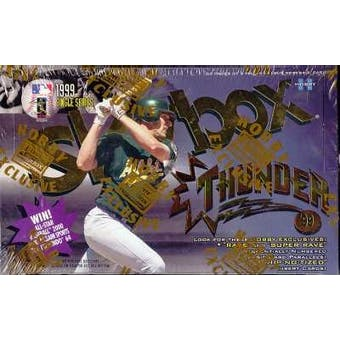 1999 Skybox Thunder Baseball Hobby Box