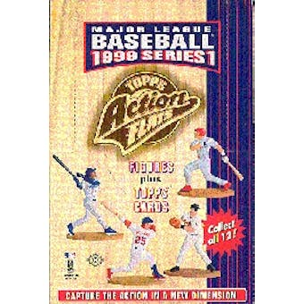 1999 Topps Action Flats Baseball Box