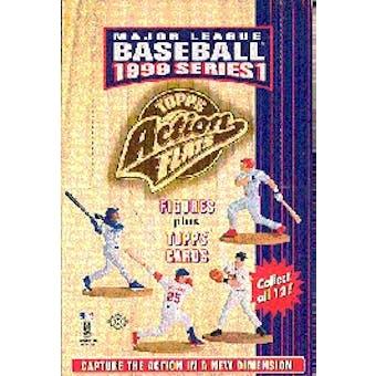1999 Topps Action Flats Baseball Box