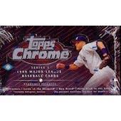 1999 Topps Chrome Series 1 Baseball Hobby Box