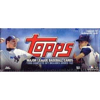 1999 Topps Baseball Retail Factory Set (Light Blue)