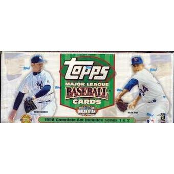 1999 Topps Baseball HTA Factory Set (White)
