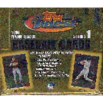 1999 Topps Finest Series 1 Baseball Hobby Box