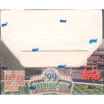 1999 Topps Opening Day Baseball 24 Pack Box