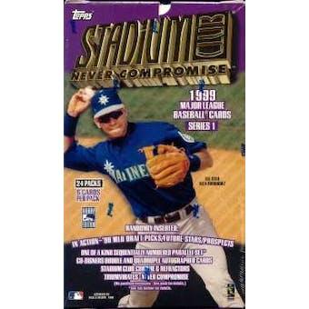 1999 Topps Stadium Club Series 1 Baseball Hobby Box