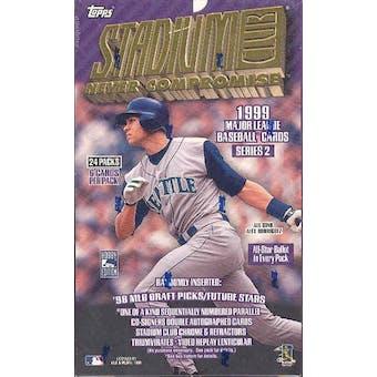1999 Topps Stadium Club Series 2 Baseball Hobby Box