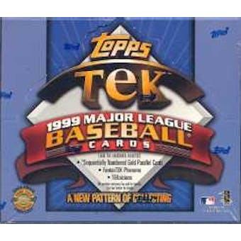 1999 Topps Tek Baseball Hobby Box