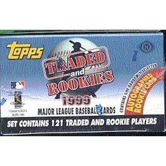 1999 Topps Traded & Rookies Baseball Factory Set (Josh Hamilton Rookie!!!)