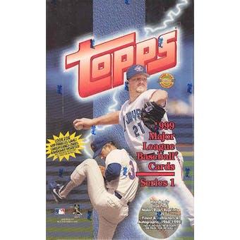 1999 Topps Series 1 Baseball Jumbo Box