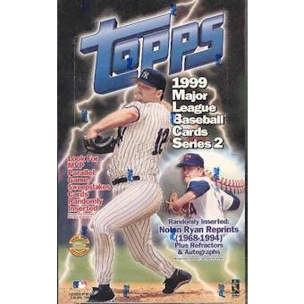 1999 Topps Series 2 Baseball Jumbo Box