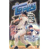 1999 Topps Series 2 Baseball Hobby Box (Reed Buy)