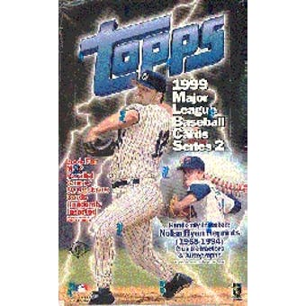 1999 Topps Series 2 Baseball Hobby Box