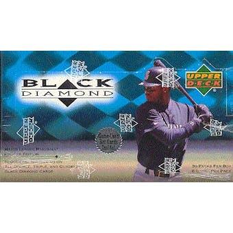 1999 Upper Deck Black Diamond Baseball Hobby Box