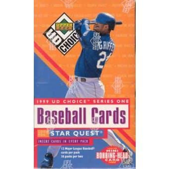 1999 Upper Deck Choice Series 1 Baseball Hobby Box