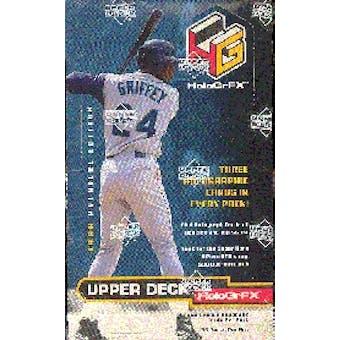 1999 Upper Deck Hologrfx Baseball Hobby Box