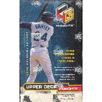 1999 Upper Deck Hologrfx Baseball Hobby Box