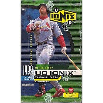 1999 Upper Deck Ionix Baseball Box