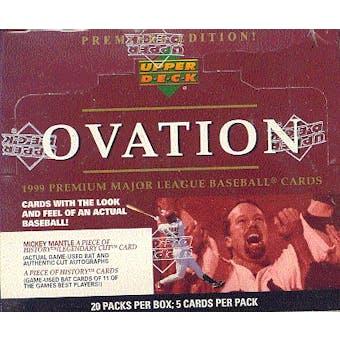 1999 Upper Deck Ovation Baseball Hobby Box
