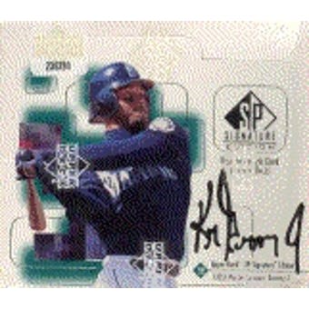 1999 Upper Deck SP Signature Edition Baseball Hobby Box