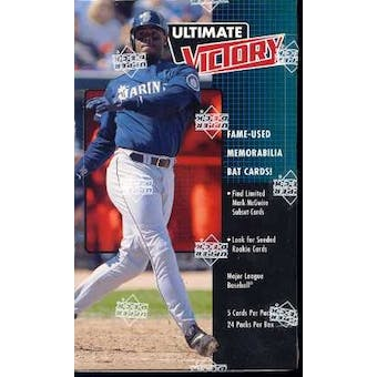 1999 Upper Deck Ultimate Victory Baseball Box