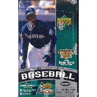 1999 Upper Deck Series 1 Baseball Hobby Box