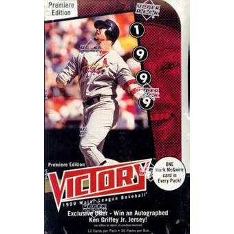 1999 Upper Deck Victory Baseball Hobby Box