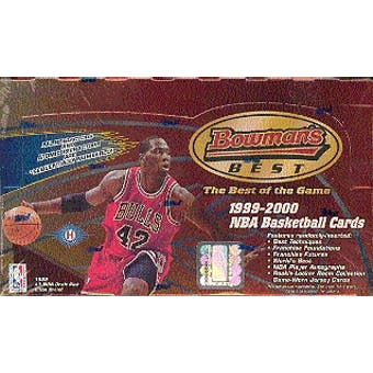 1999/00 Bowman's Best Basketball Hobby Box