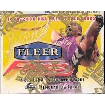 1999/00 Fleer Focus Basketball Hobby Box
