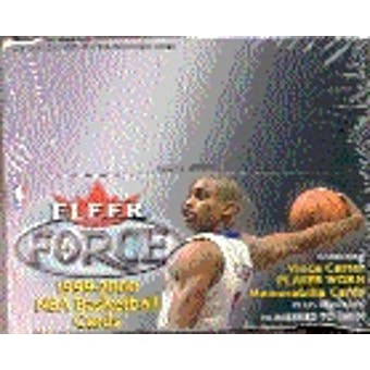 1999/00 Fleer Force Basketball Retail Box