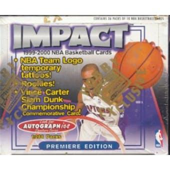 1999/00 Skybox Impact Basketball Hobby Box