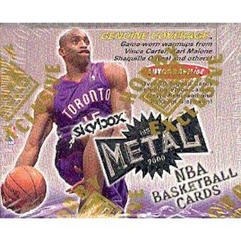 1999/00 Skybox Metal Basketball Hobby Box