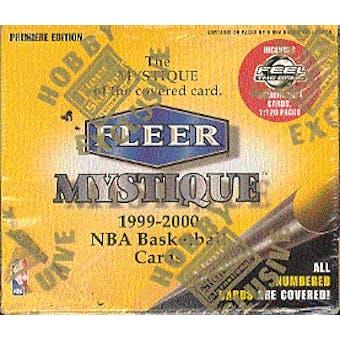 1999/00 Fleer Mystique Basketball Hobby Box