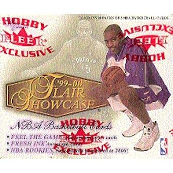 1999/00 Fleer Showcase Basketball Hobby Box
