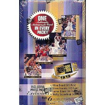 1999/00 Press Pass Signature Basketball Hobby Box