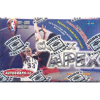 1999/00 Skybox Apex Basketball Hobby Box