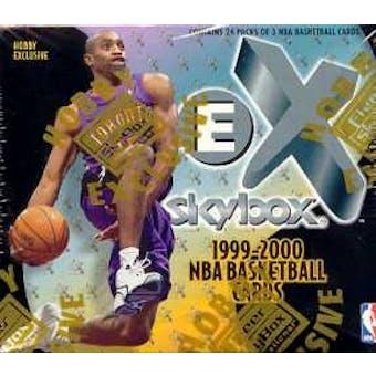 1999/00 Skybox E-X Basketball Hobby Box