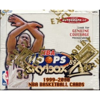 1999/00 Skybox Hoops X Decade Basketball Hobby Box