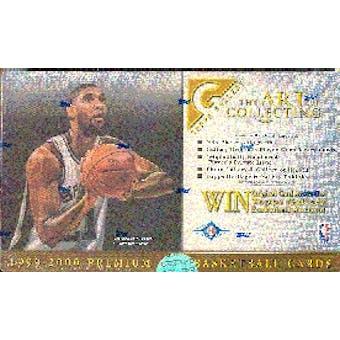 1999/00 Topps Gallery Basketball Hobby Box