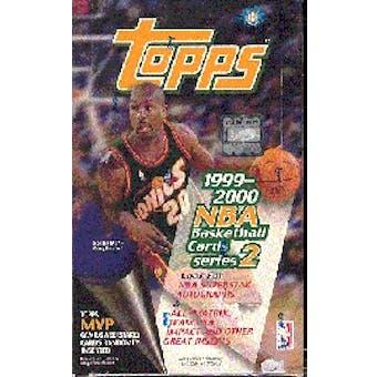 1999/00 Topps Series 2 Basketball Hobby Box